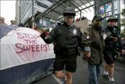 police sweeps