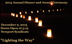 """Lighting the Way"" 2015 Annual Dinner and Award Ceremony"