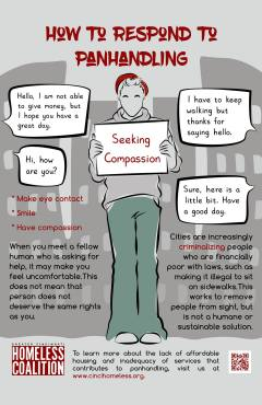 How To Respond to Panhandling